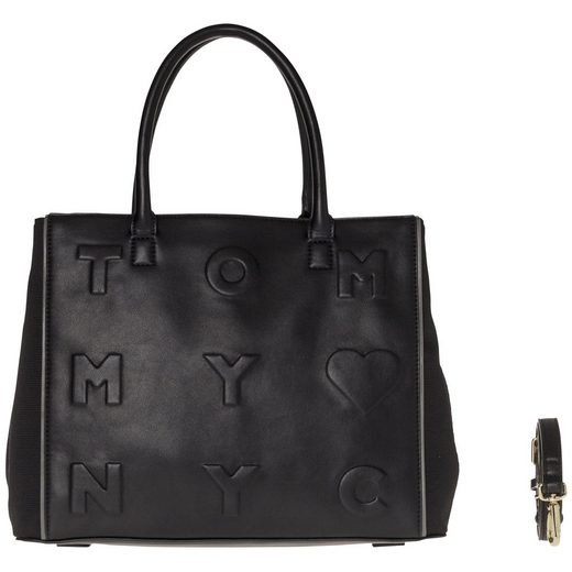 Tommy Hilfiger Handtasche »LOGO STORY SMALL TOTE«