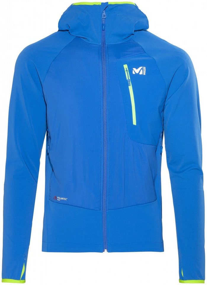 Millet Softshelljacke »Touring Speed XCS Hoodie Men« in blau