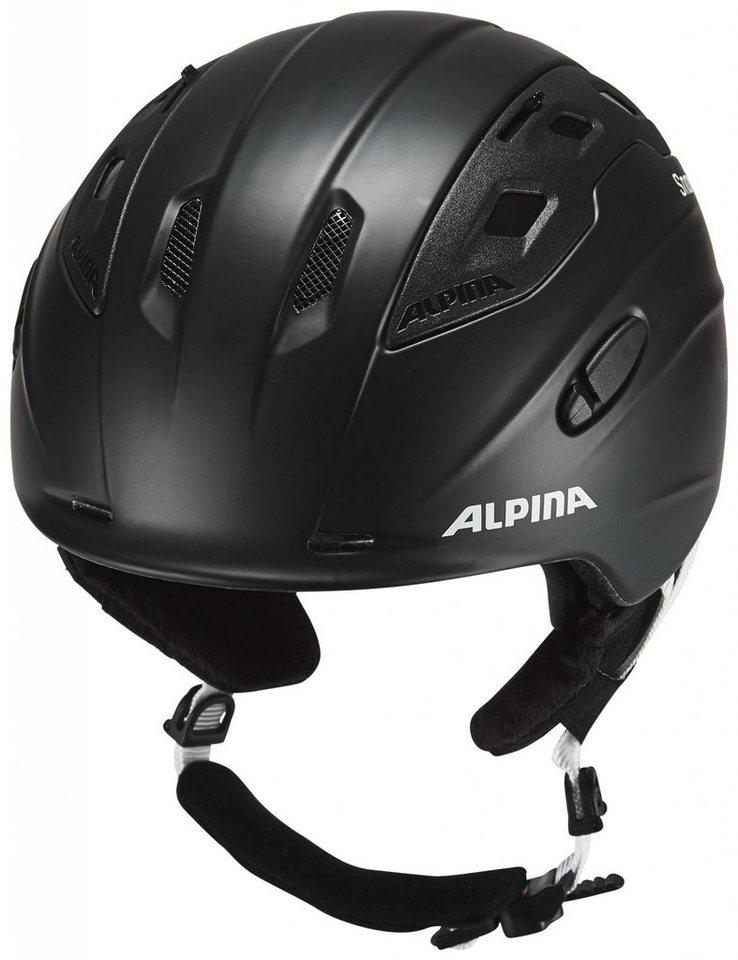 Alpina Ski - / Snowboardhelm »Snowmythos Helmet« in schwarz