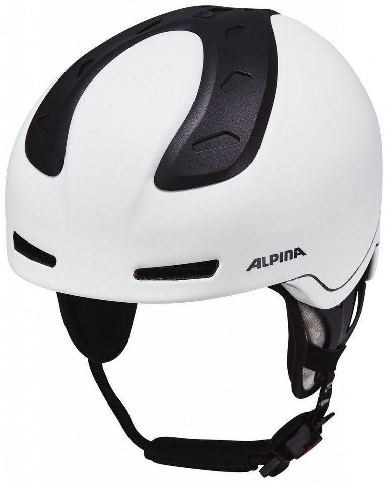 Alpina Ski - / Snowboardhelm »Spine Helmet« in weiß