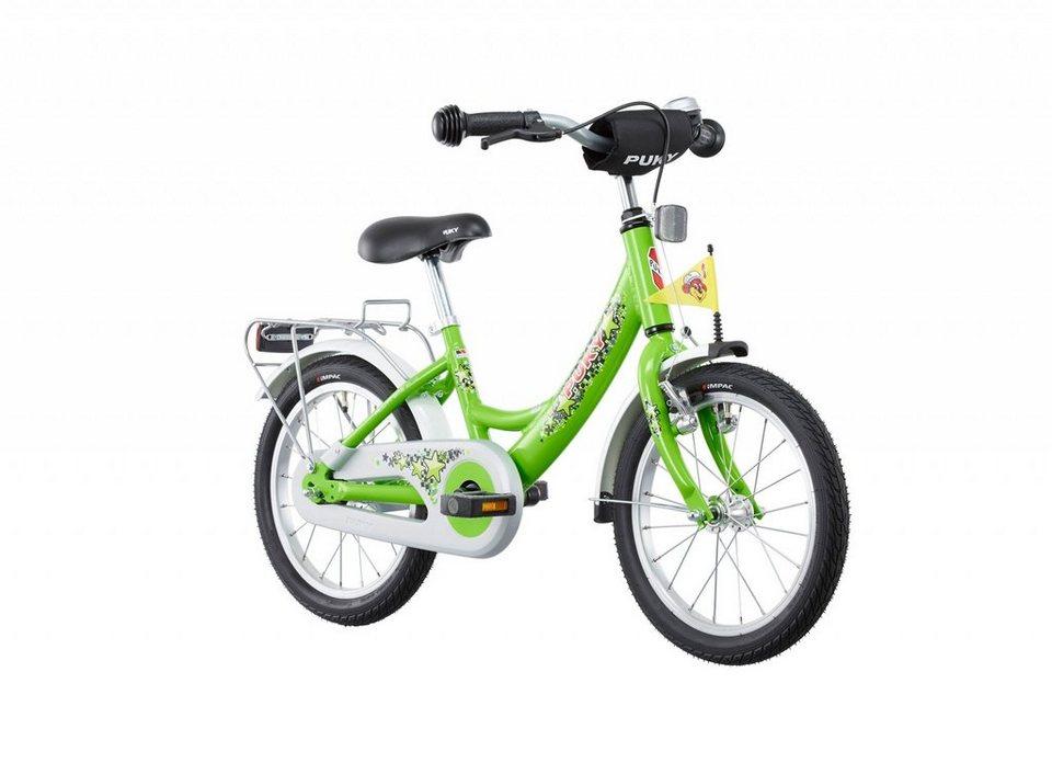 "Puky Kinderrad »ZL 16-1 Kinderfahrrad 16"" Alu« in grün"