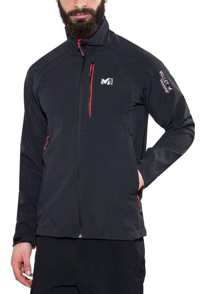 Millet Softshelljacke »W3 Pro WDS Jacket Men« in schwarz