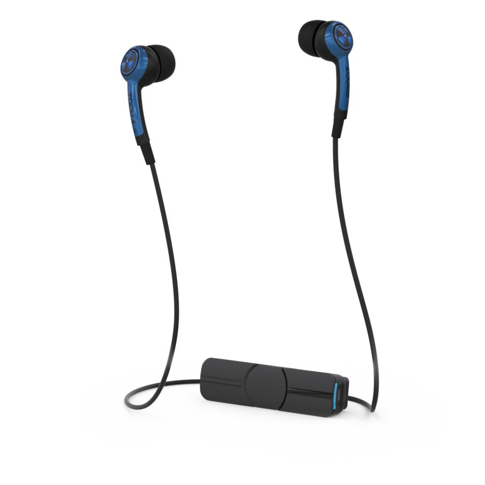 IFROGZ Kopfhörer »Audio Plugz Wireless Bluetooth Earbuds« in Blau-Schwarz