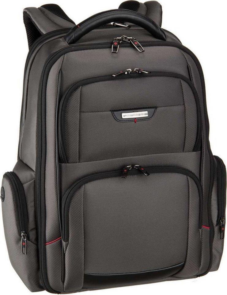 "Samsonite Pro-DLX 4 Laptop Backpack 3V 15.6"" in Magnetic Grey"