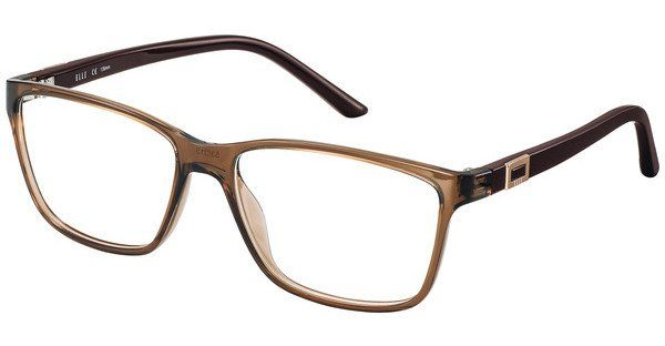 Elle Creation Damen Brille » EL13397«, braun, BR - braun
