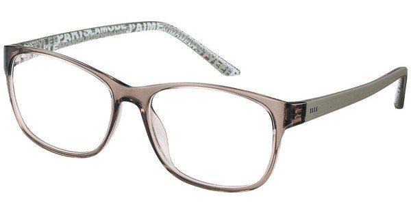 Elle Creation Damen Brille » EL13397«, braun, BR - braun
