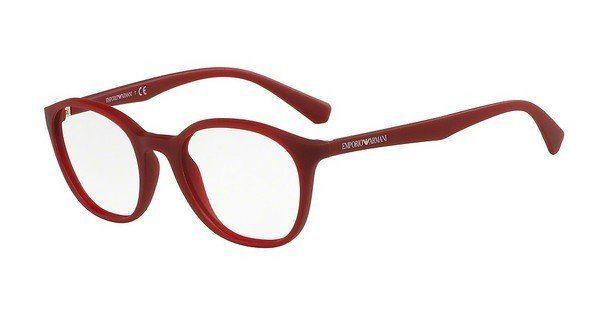 Emporio Armani Damen Brille » EA3079«, orange, 5507 - orange