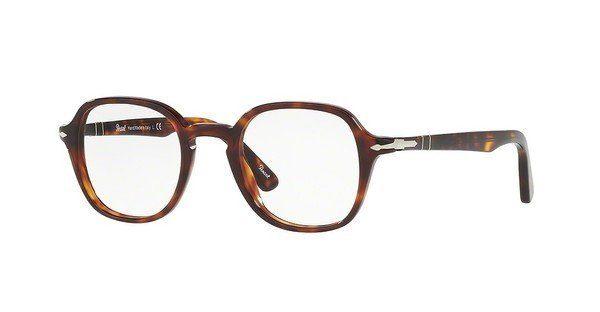 PERSOL Persol Herren Brille » PO3178V«, braun, 24 - braun