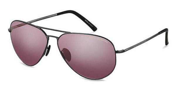 PORSCHE Design Porsche Design Herren Sonnenbrille » P8508«, lila, J - lila/rot