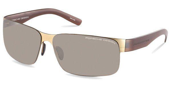 PORSCHE Design Porsche Design Herren Sonnenbrille » P8573«, grün, B - grün/grün