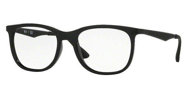 ray ban herrenbrille schwarz