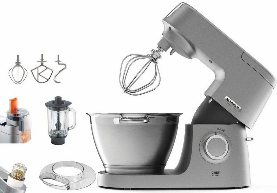 kenwood k chenmaschine chef elite kvc5320s zubeh rpaket. Black Bedroom Furniture Sets. Home Design Ideas