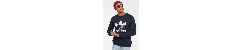 adidas Originals Sweatshirt TREFOIL FLEECE CREW, Raglan盲rmel