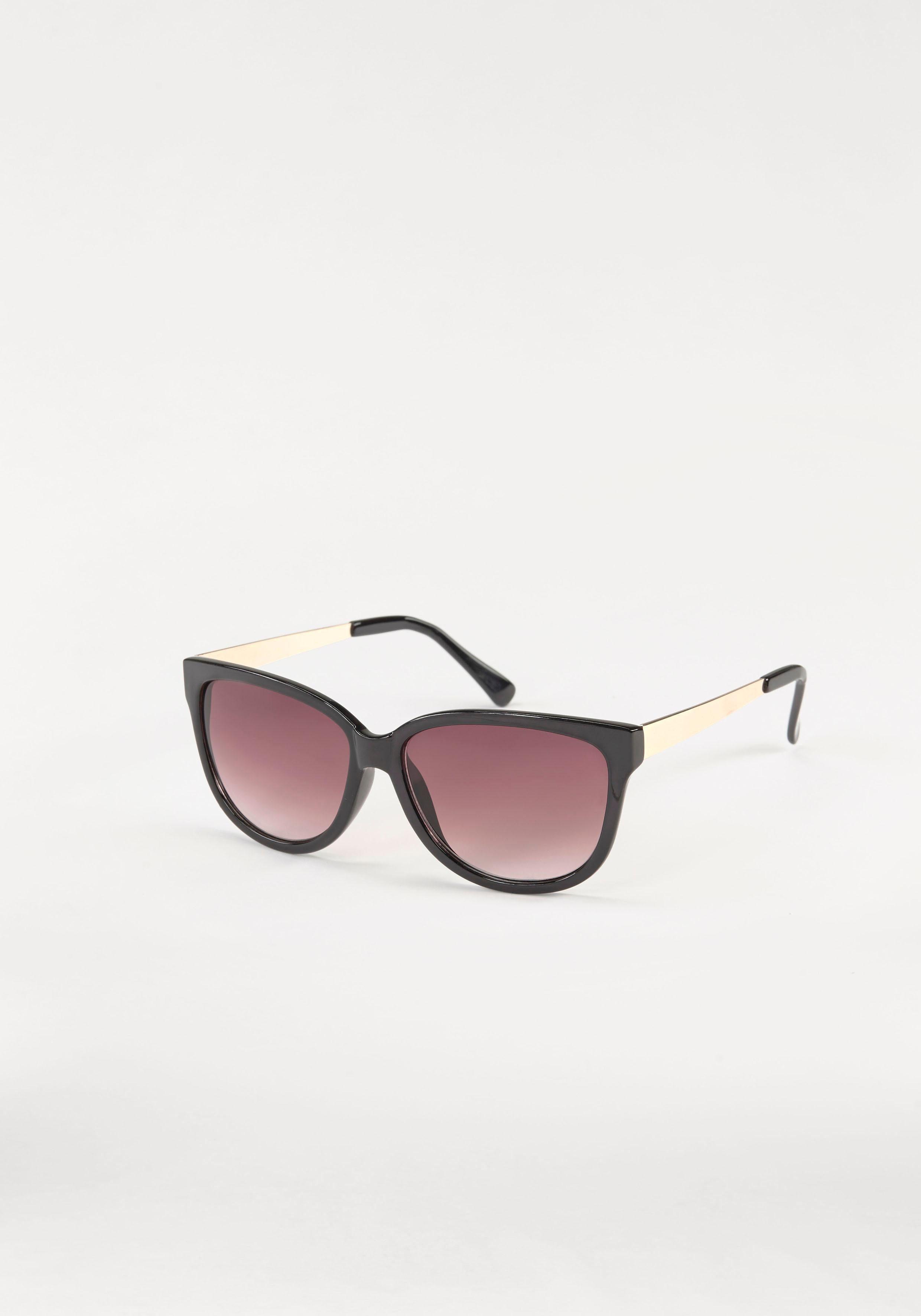 J.Jayz Sonnenbrille, Eckige Brille, Retro-Look, Klassik-Style