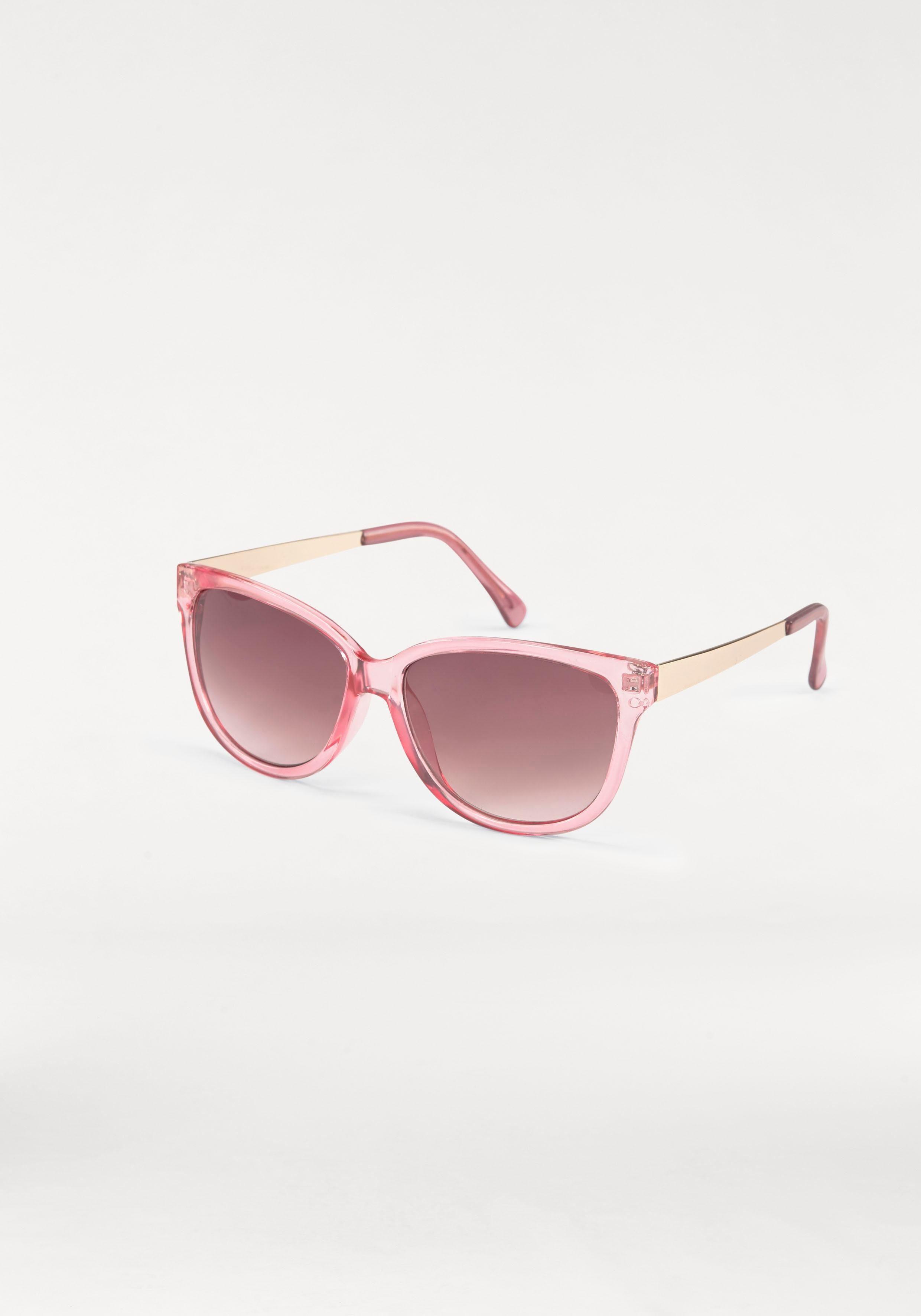 Sonnenbrille Eckige Brille, Retro Look