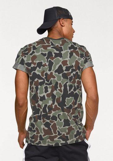 adidas Originals T-Shirt CAMO TREFOIL T
