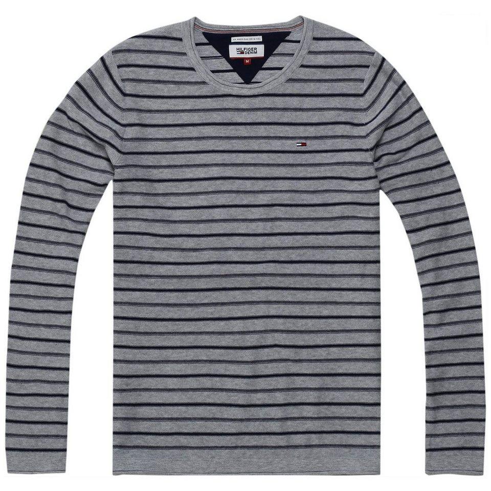 hilfiger denim pullover thdm basic cn sweater l s 16. Black Bedroom Furniture Sets. Home Design Ideas