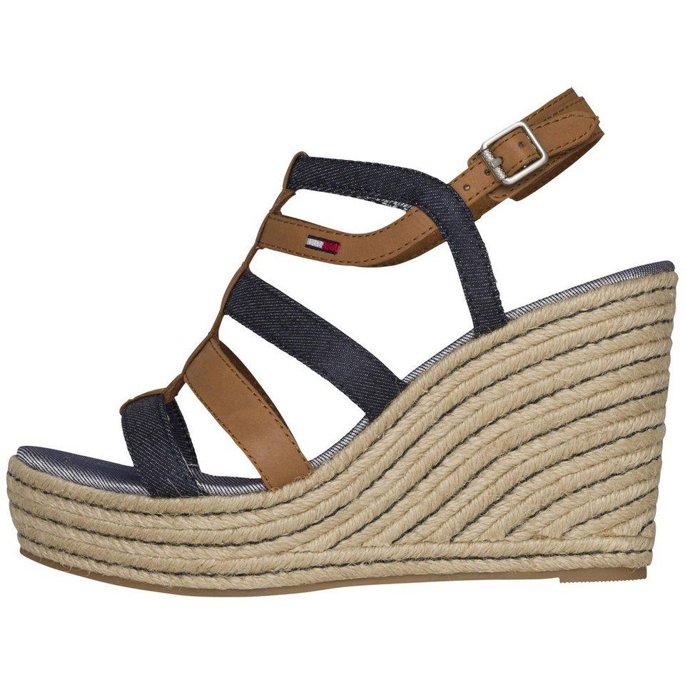 tommy hilfiger sandale l1385una 4c online kaufen otto. Black Bedroom Furniture Sets. Home Design Ideas