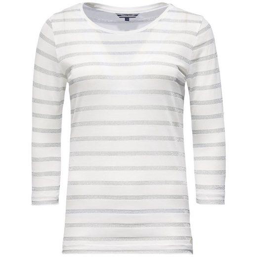 Tommy Hilfiger Shirt »CAMEO C-NK TOP 3/4 SLV«