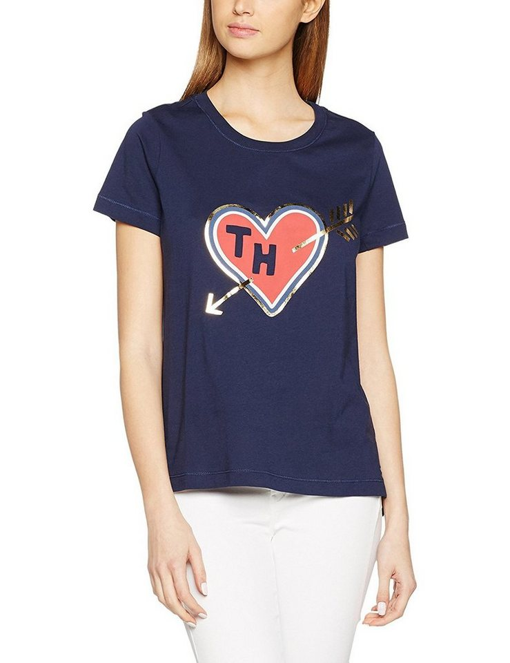 tommy hilfiger t shirt th heart tee ss kaufen otto. Black Bedroom Furniture Sets. Home Design Ideas