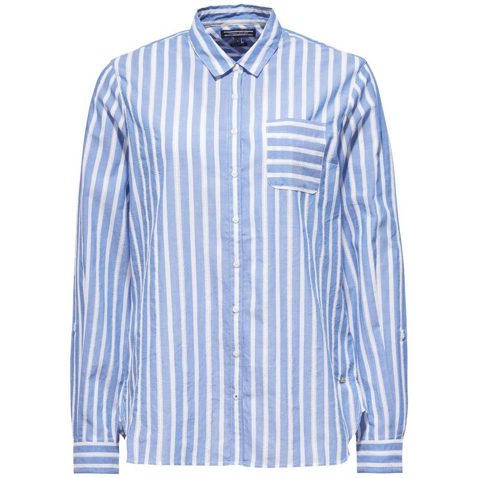 tommy hilfiger bluse aris shirt ls w3 kaufen otto. Black Bedroom Furniture Sets. Home Design Ideas