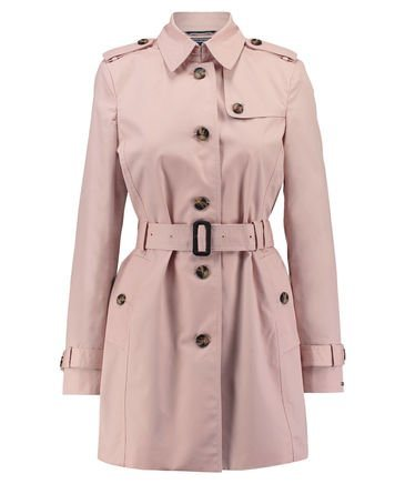 Tommy hilfiger damen trenchcoat mantel new heritage trench