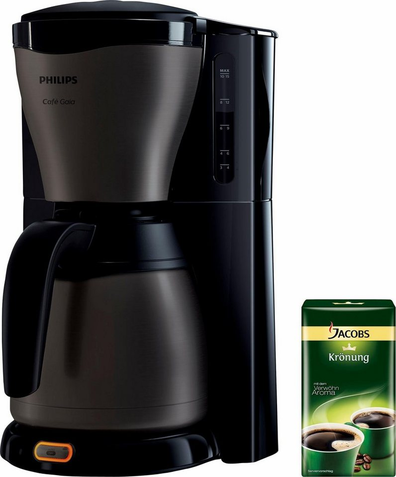 philips kaffeemaschine hd7547 80 gaia therm titanium mit 500g gratis kaffee online kaufen otto. Black Bedroom Furniture Sets. Home Design Ideas