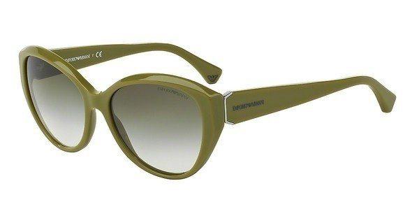 Emporio Armani Damen Sonnenbrille » EA4037« in 52568E - grün/grün