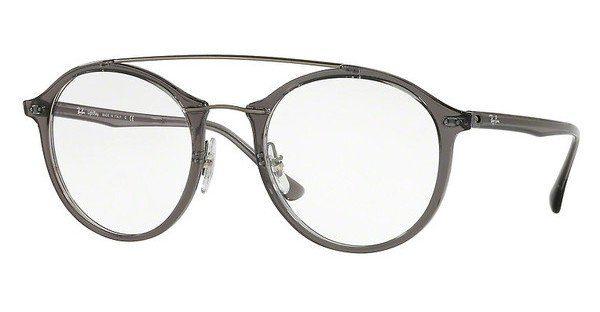 ray ban brille damen grau