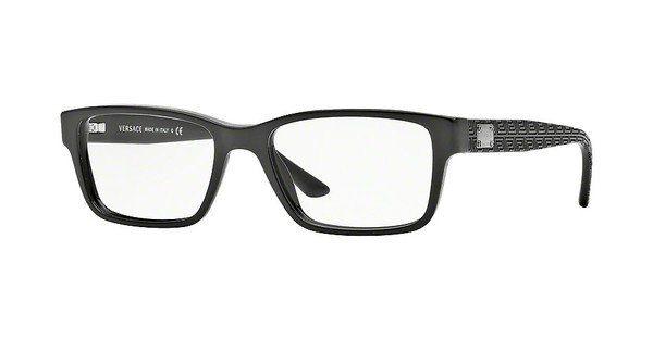 Versace Herren Brille » VE3198«, schwarz, GB1 - schwarz