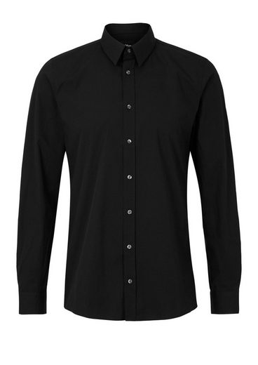s.Oliver BLACK LABEL Slim: Stretch-Businesshemd