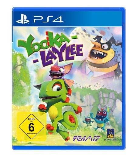 nbg playstation 4 spiel yooka laylee mehr als 8. Black Bedroom Furniture Sets. Home Design Ideas