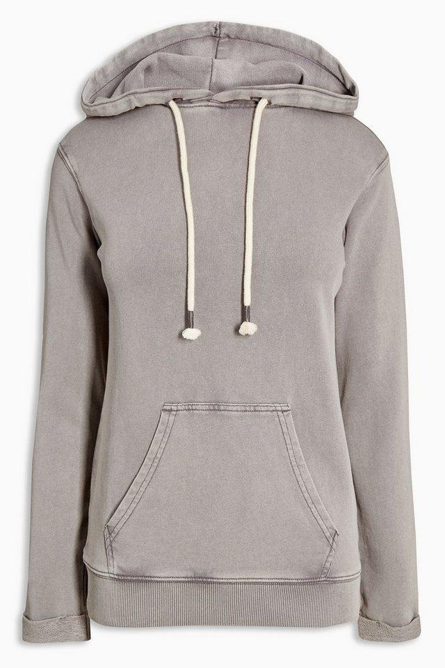 Next Kapuzensweatshirt in Grey