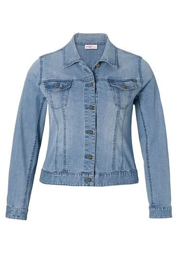sheego Denim Kurzjacke