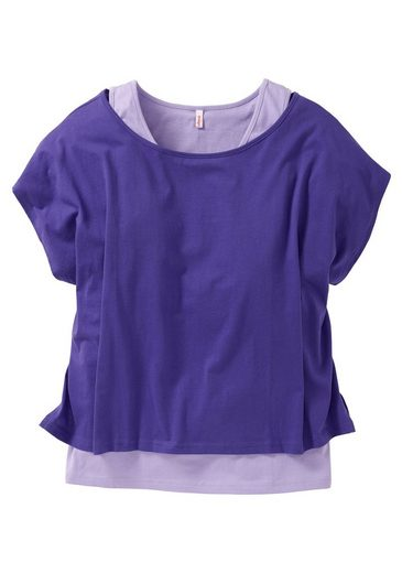 sheego Casual 2-in-1-Shirt, in Oversize-Form