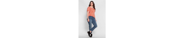 sheego Casual T-Shirt, in Ausbrenner-Qualität