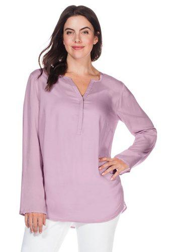 Damen sheego Casual Longtunika verlängerte Rückenpartie rosa | 04054697400373