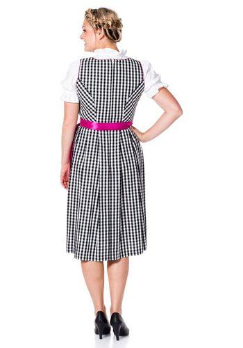- Damen sheego Style Dirndl Dirndl inklusive Bluse und Schürze schwarz | 04041856224284