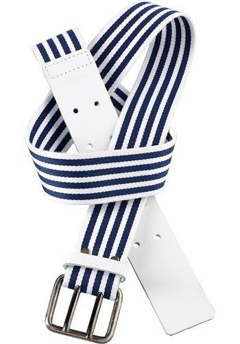 Damen sheego Accessoires Stoffgürtel blau   04054697421897