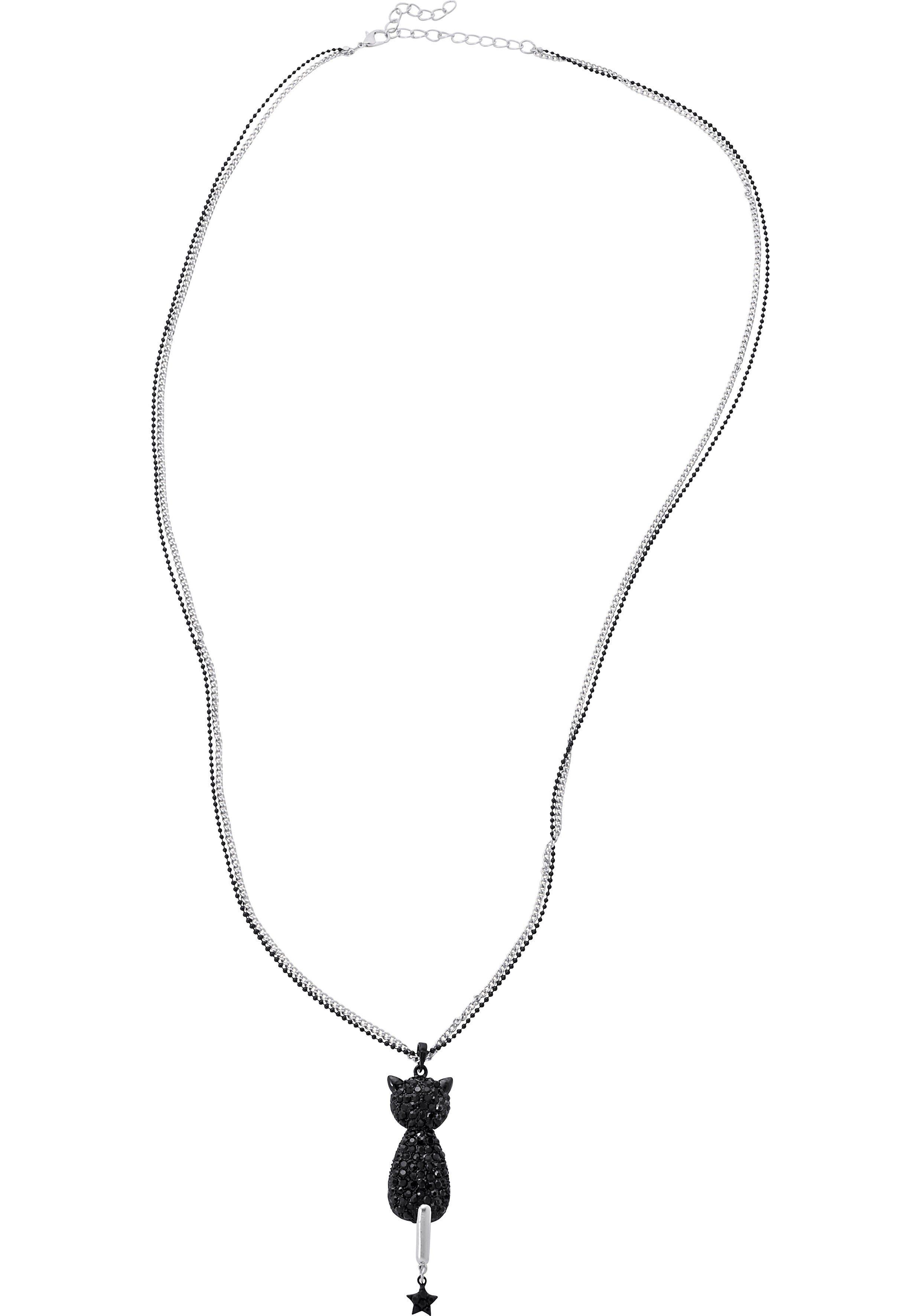 sheego Accessoires Kette mit Anhänger, Länge ca. 75 cm und 6 cm Verlängerung