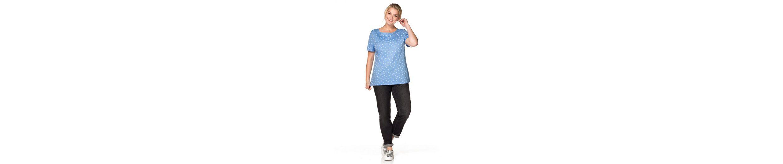 sheego Casual T-Shirt, mit Pünktchendruck