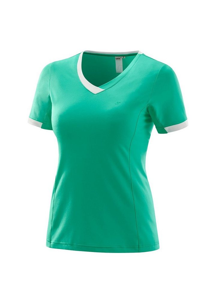 Joy Sportswear Trainingsshirt »HELLA« in jade-kontrastfarbene Details