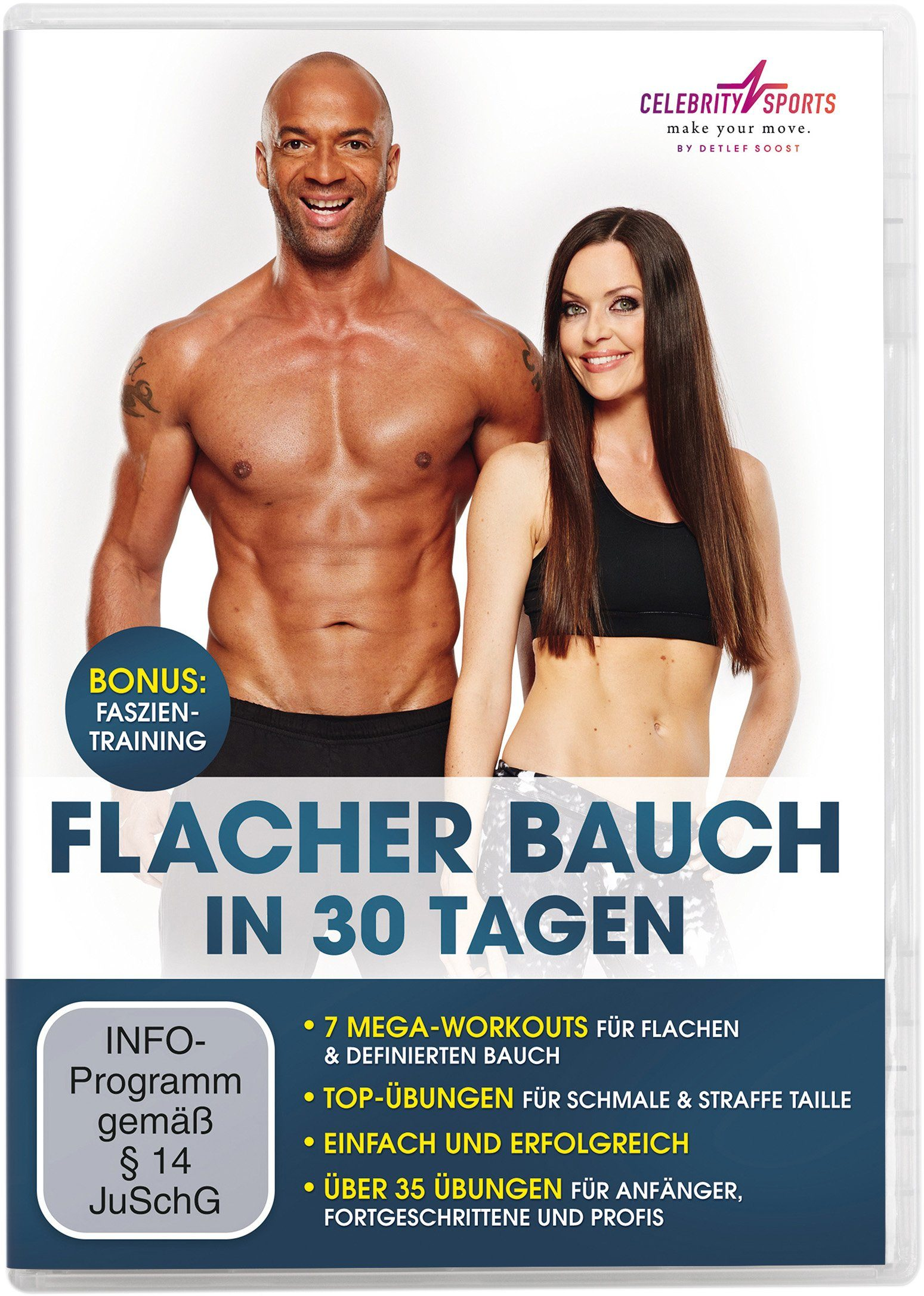 Trainings-DVD, »Flacher Bauch«