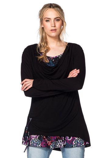 Joe Browns 2-in-1-Shirt, mit Chiffon