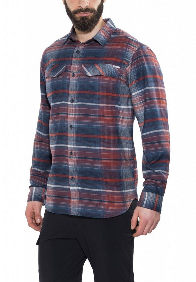 Columbia Hemd »Silver Ridge Flannel Long Sleeve Shirt Men« in blau