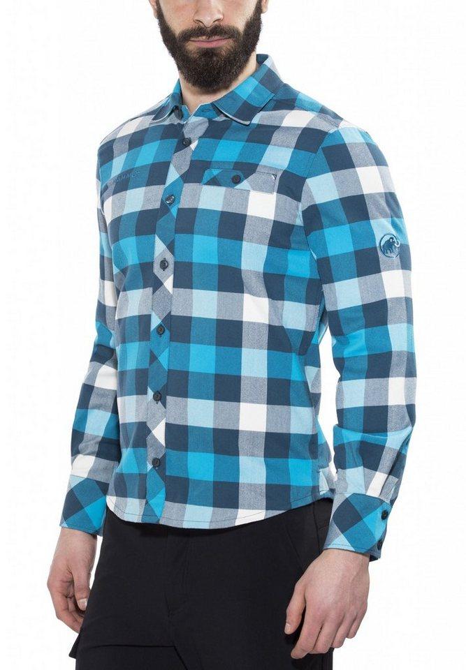 Mammut Sweatshirt »Belluno Winter Longsleeve Shirt Men« in blau