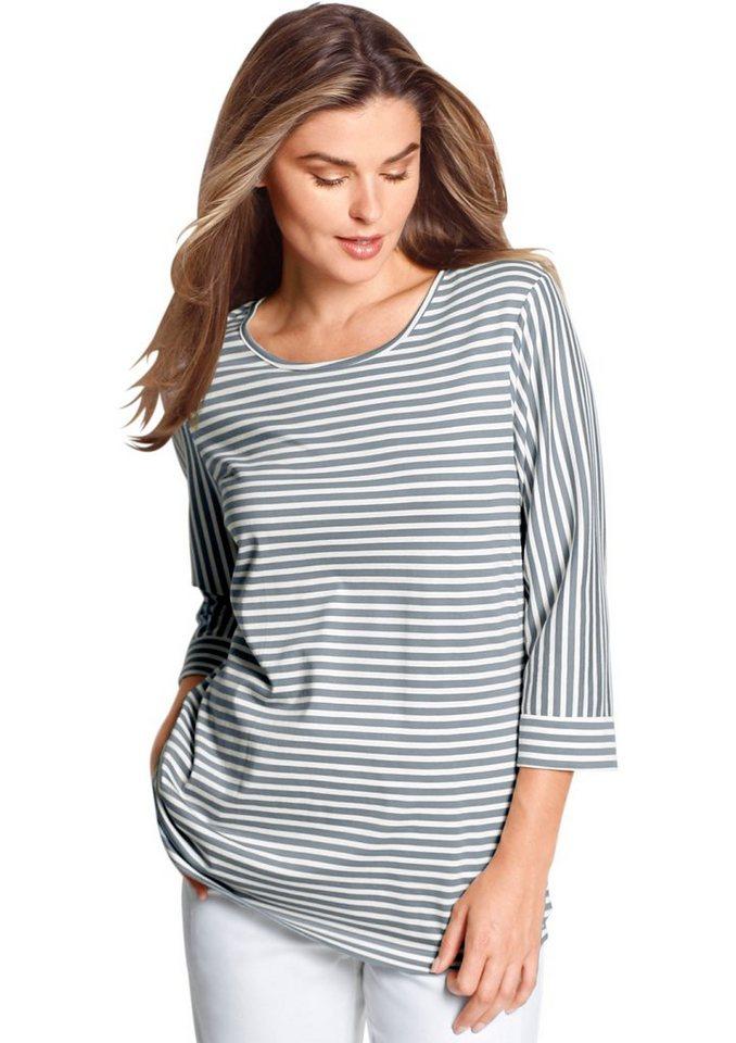 classic basics shirt mit ringel muster kaufen otto. Black Bedroom Furniture Sets. Home Design Ideas