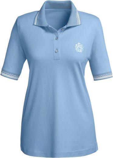 Collection L. Shirt mit farblich abgestimmten Knöpfen