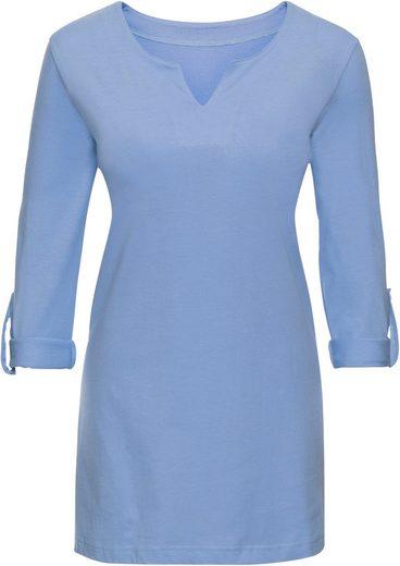 Classic Basics Shirt in leichter A-Form