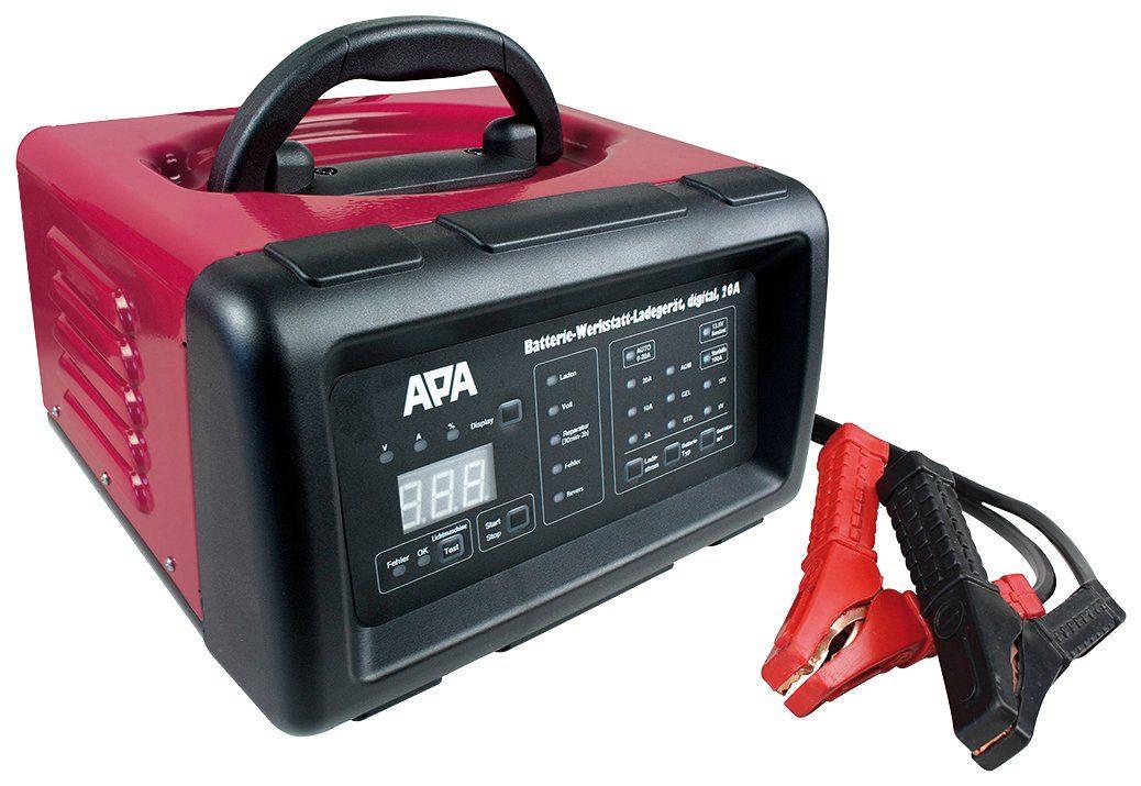 APA Batterieladegerät »20A «, mit Starthilfe (100 A)